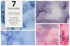 7 Huge Seamless Purple Alcohol Ink Textures Product Image 2