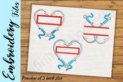 Fishing Hooks - Embroidery Design files Product Image 2
