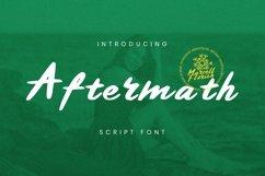 Web Font Aftermath Font Product Image 1