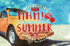 Mhm! Summer 2 Font + Vector Bonus Product Image 1