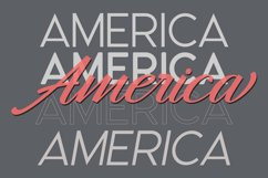 America Font Duo Product Image 4