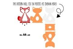 Fox Easter egg holder design SVG / DXF / EPS Product Image 2