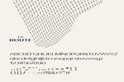 La Route Typeface Product Image 6