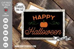 Happy Halloween Cut File Product Image 1