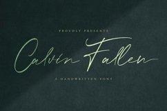 Calvin Fallen - Handwritten Signature Font Product Image 1