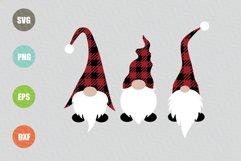Christmas Gnomes SVG File Product Image 1