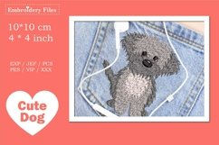 Cute little Havaneser Dog - Embroidery File Product Image 1