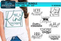 Kindness SVG Bundle  Motivational SVG Cut Files Product Image 1
