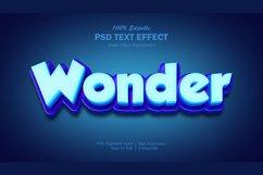 3D Wonder Text Effect Product Image 1