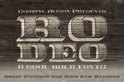 Rodeo Typeface Product Image 5