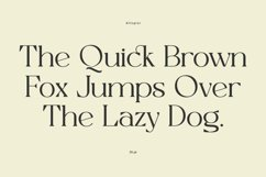 Allogist - Modern Classic Typeface Product Image 4