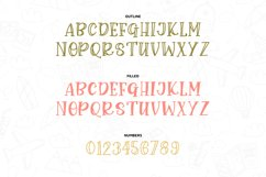 John Grey - a handwritten outline and filled font Product Image 6