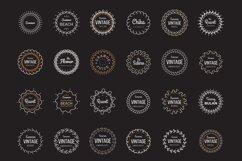 24 Vintage Circle Badges Product Image 4