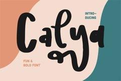 Web Font Calya - Fun & Bold Font Product Image 1