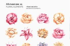FLORA - Pretty Pions & Succulents Bundle Product Image 2