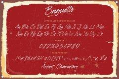 Baguette Natural Handbrushed Font Product Image 5