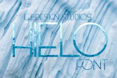 Hielo Fontpack Product Image 1