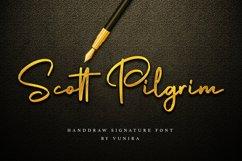 Scott Pilgrim   Handdraw Signature Font Product Image 1