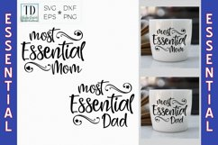 Essential Worker Dad, Essential Worker Mom, Frontline Hero Product Image 1