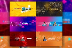 Epic Youtube Channel Art Banners Set 10 Product Image 2