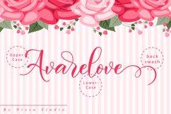Avarelove // Lovely Script Font Product Image 6