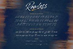 Rawless Natural Handbrushed Font Product Image 6