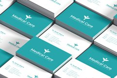 Medical Minimal Business Card Template Product Image 4