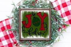 Christmas Sublimation Design - Be Joyful PNG Product Image 1