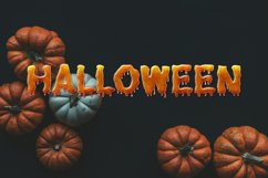 Dripping Zombie Halloween Font Product Image 2