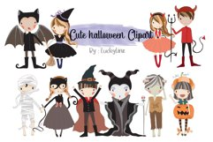 Cute Halloween clipart Product Image 1