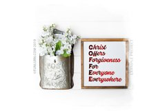 C.O.F.F.E.E. Christ Offers Forgiveness For Everyone SVG Product Image 3