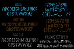 My Boy - A Font Trio With Boyish Doodles Product Image 4