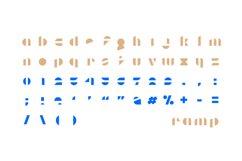 Ramp Display Font Product Image 2