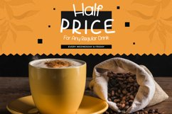 Mocha Frappuccino Playfull Font Product Image 2