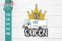RV Queen Camping SVG Product Image 2