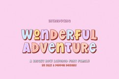Wonderful Adventure Font Family Product Image 1