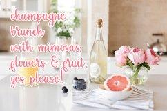 Grapefruit Delight Font - Hand Lettered Script Product Image 3