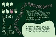 Sebatu modern font Product Image 5