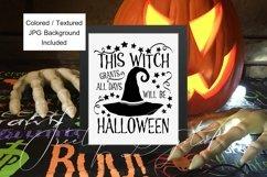 Halloween Mockup Bundle, Frame, Porch Sign, Flag, Mug, Shirt Product Image 3