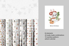 Christmas collection with cute animals Product Image 5
