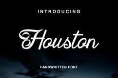 Houston Handwritten Font Product Image 1