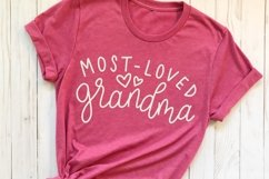 Most Loved Grandparents SVG Bundle - Cut Files for Crafters Product Image 2