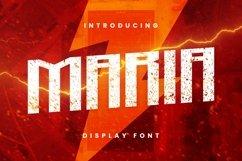 Web Font Maria Font Product Image 1