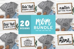 Mother's Day SVG Bundle | Mom Quotes Shirt Bundle Product Image 1