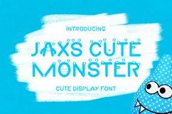 Jaxs Cute Monster Font Product Image 1