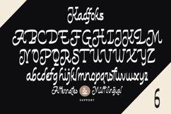 Web Font Kadfoks - Casual Fonts Product Image 5