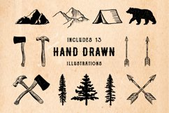 Rustic Logos & Illustrations AI PNG Product Image 3