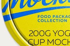 200G YOGURT CUP MOCKUP Product Image 5