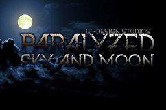 Paralyzed sky and moon Product Image 1