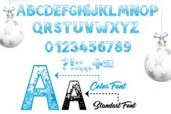 SNOW - Font Family for Christmas! Product Image 3